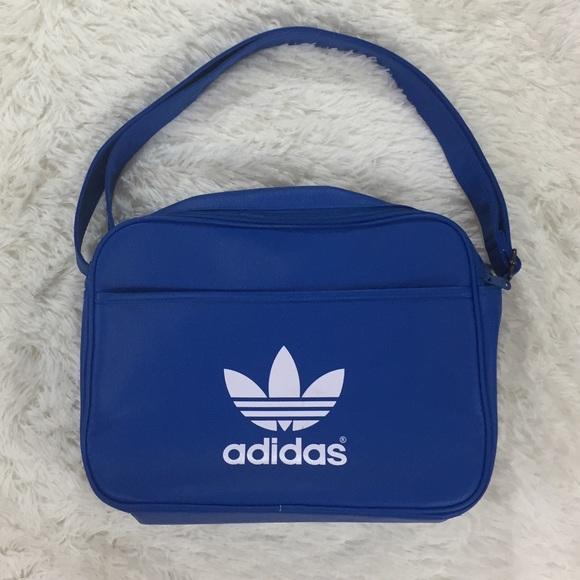Adidas blue airline shoulder gym bag 7c0f1b097